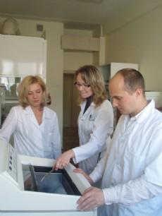 Работа гистологической лаборатории